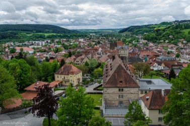Birds-Eye View of Kronach